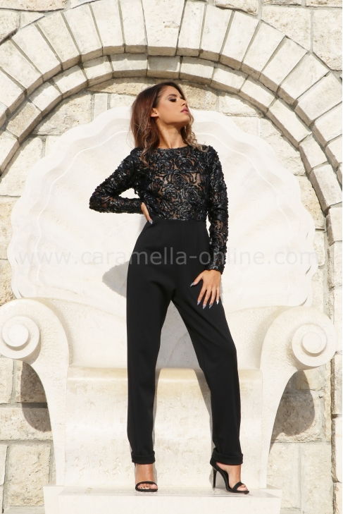 Jumpsuits Leather Roses 042051