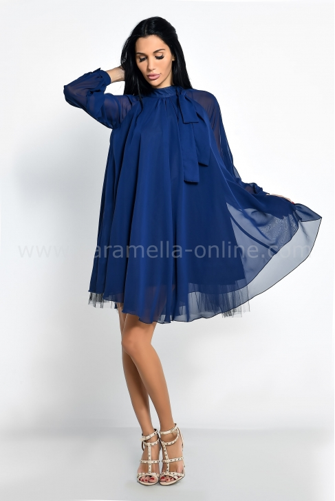 Dress Blue Lorene 012588