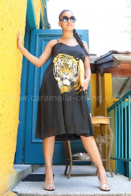 Dress Summer Tiger