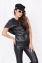 Top Black Leather 022473 4