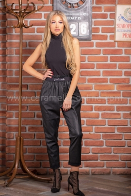 Leather Pants Just Black