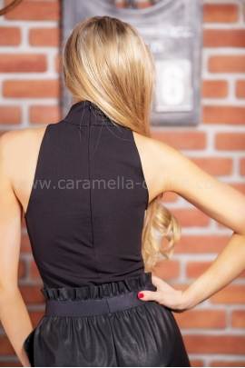 Body-Blouse Casual Black